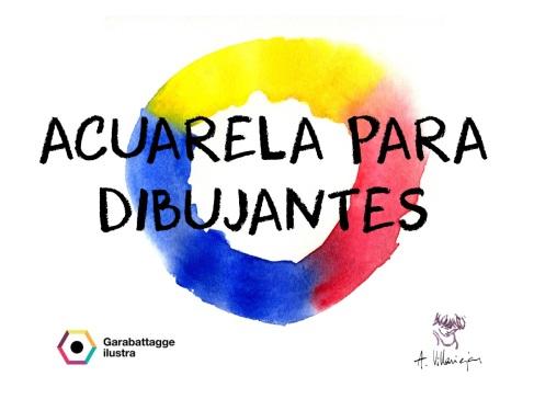 TALLER ACUARELA PARA DIBUJANTES_2016